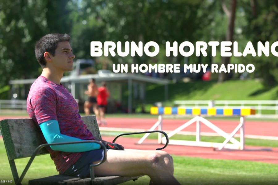 Bruno Hortelano. Un hombre muy rápido
