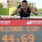 Record de España de 400m