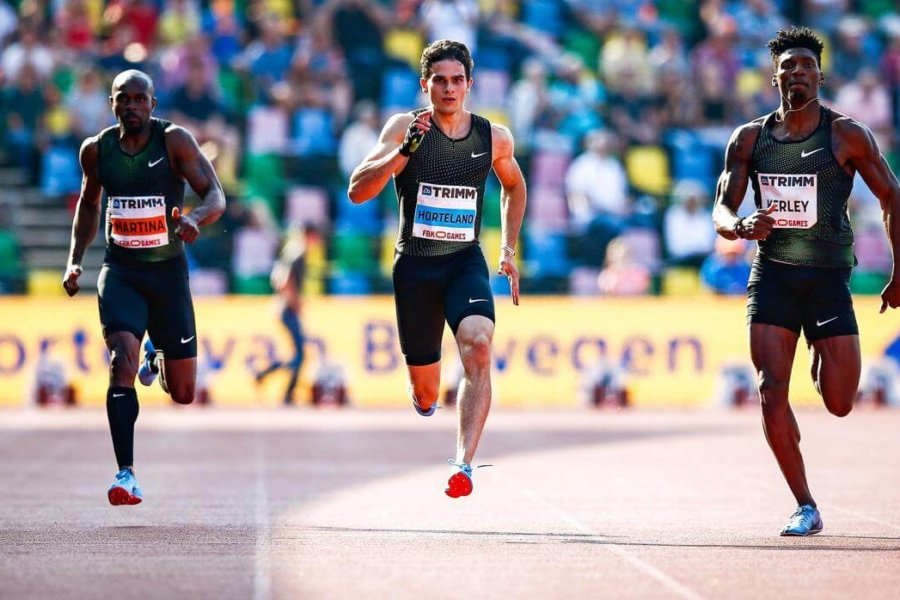 Another big step for Spain's 200m European champion Bruno Hortelano